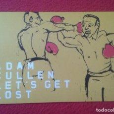 Coleccionismo deportivo: POSTAL POST CARD CARTE POSTALE PUBLICITARIA GALERÍA DE ARTE EN AUSTRALIA CON IMAGEN BOXEO BOXING VER. Lote 127834903