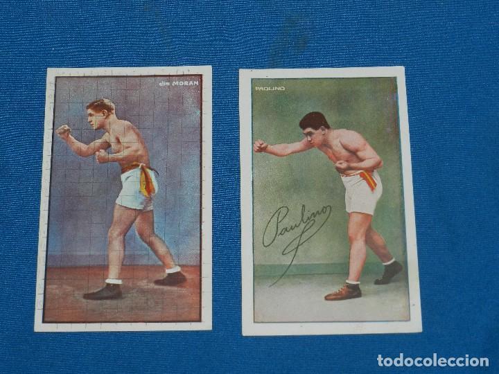 Coleccionismo deportivo: (M) BOCEO - 9 POSTALES DIFERENTES DE BOCEO AÑOS 20 , JIM MORAN , PAOLINO UZCUDUM , GIRONES , MOLINE - Foto 3 - 128896751