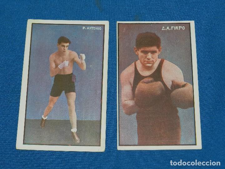 Coleccionismo deportivo: (M) BOCEO - 9 POSTALES DIFERENTES DE BOCEO AÑOS 20 , JIM MORAN , PAOLINO UZCUDUM , GIRONES , MOLINE - Foto 6 - 128896751