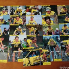 Collectionnisme sportif: EQUIPO CICLISTA GRUPO ONCE DEPORTIVO 1993 .- 21 POSTALES. Lote 130062927