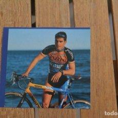 Coleccionismo deportivo: FOTO DEL CICLISTA CARLES TORRENS (JAZZTEL COSTA DE ALMERIA). Lote 137155802