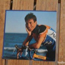 Coleccionismo deportivo: FOTO DEL CICLISTA JOSE A PECHARROMAN (JAZZTEL COSTA DE ALMERIA). Lote 137158386
