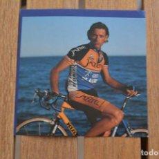 Coleccionismo deportivo: FOTO DEL CICLISTA FABIO ROSCIOLI (JAZZTEL COSTA DE ALMERIA). Lote 137158626