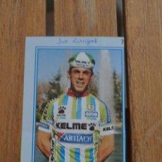 Coleccionismo deportivo: FOTO DEL CICLISTA JOSE RODRIGUEZ (KELME). Lote 137158742