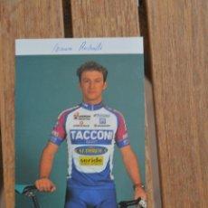 Coleccionismo deportivo: FOTO DEL CICLISTA MAURO RADAELLI (VINI CAKDIROL,A TACCONI). Lote 137159030