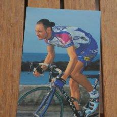 Coleccionismo deportivo: FOTO DEL CICLISTA MAURO PEZZE TACCONI VINI CALDIORLA). Lote 137159602
