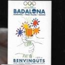 Coleccionismo deportivo: POSTAL * BADALONA * JJOO BARCELONA 92 -ILUSTRACIÓN PICASSO 1992. Lote 160594788