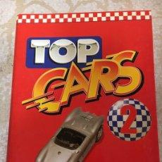 Coleccionismo deportivo: LIBRO ÁLBUM TOP CARS 2 1998. Lote 142463156