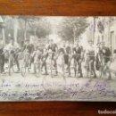 Coleccionismo deportivo: POSTAL FOTOGRAFICA - GRUPO DE CICLISTAS - CIRCULADA 1924 - BUEN ESTADO. Lote 142806278