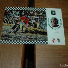 Coleccionismo deportivo: POSTAL SERIE MOTOCROSS - AÑOS 60-70 SUECIA . Lote 143152542