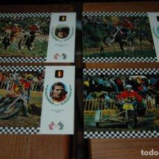 Coleccionismo deportivo: POSTAL POSTALES SERIE MOTOCROSS - AÑOS 60-70 ...BELGICA . Lote 143160746
