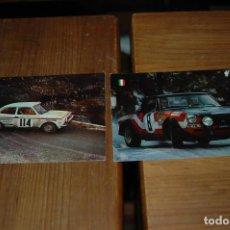 Coleccionismo deportivo: POSTAL POSTALES SERIE AUTOS RALLYE - AÑOS 60-70 .... Lote 143258026