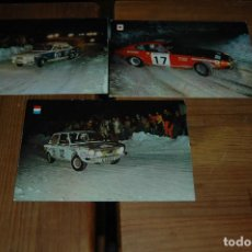 Coleccionismo deportivo: POSTAL POSTALES SERIE AUTOS RALLYE - AÑOS 60-70 .... Lote 143258394