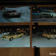 Coleccionismo deportivo: POSTAL POSTALES SERIE AUTOS RALLYE - AÑOS 60-70 .... Lote 143258794