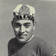 Coleccionismo deportivo: POSTAL DE FAEMA, FOTO DEL CICLISTA ANTONIO GOMEZ DEL MORAL 1962, SIN CIRCULAR.. Lote 143674862