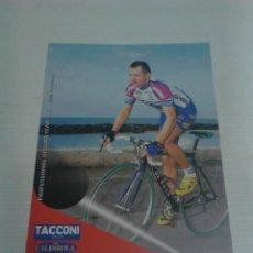 Coleccionismo deportivo: POSTAL CICLISMO DIMITRY GAYNITDINOV.. Lote 147510106