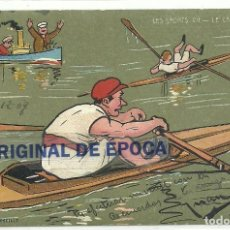 Coleccionismo deportivo: (PS-59211)POSTAL LES SPORTS-LE CANOTAGE.ILUSTRADA CH.BEAUVAIS. Lote 147617010