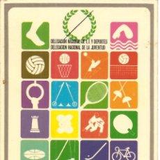 Coleccionismo deportivo: POSTAL, CONCENTRACIÓN NACIONAL DEL DEPORTE ESCOLAR, GALICIA-75, ED. MARFIL, CIRCULADA. Lote 151271846