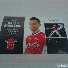 Coleccionismo deportivo: POSTAL NACER BOUHANNI COFIDIS 2015.. Lote 152441738