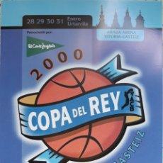 Coleccionismo deportivo: POSTAL 44 EDICIÓN COPA DEL REY BALONCESTO VICTORIA-GASTEIZ 2000. Lote 152621401