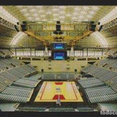 Coleccionismo deportivo: PALAU SANT JORDI.MONTJUÏC.BARCELONA. POSTAL ESCUDO DE ORO.SIN CIRCULAR.. Lote 156548818