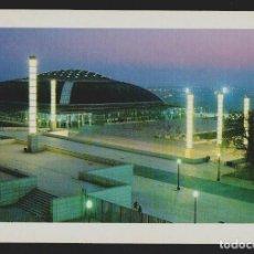 Coleccionismo deportivo: PALAU SANT JORDI.MONTJUÏC.BARCELONA. POSTAL ESCUDO DE ORO.SIN CIRCULAR.. Lote 156549010