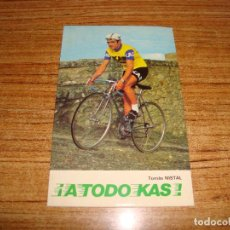 Coleccionismo deportivo: (ALB-TC-65) POSTAL PUBLICIDAD KAS TOMAS NISTRAL . Lote 158190822
