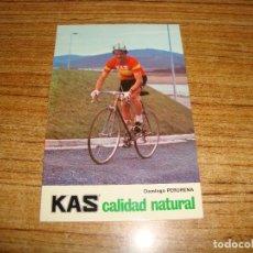 Coleccionismo deportivo: (ALB-TC-65) POSTAL PUBLICIDAD KAS DOMINGO PERURENA. Lote 158190854