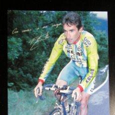 Coleccionismo deportivo: POSTAL PUBLICITARIA FERNANDO ESCARTIN CAI 1997 CICLISMO KELME. Lote 210622440
