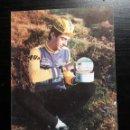 Coleccionismo deportivo: POSTAL PUBLICITARIA ANCHOAS SANTISTEBAN FOTO CICLISTA S ZEUS 1987 CICLISMO. Lote 160337782
