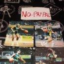 Coleccionismo deportivo: LOTE 4 FOTO FOTOGRAFÍA TIPO POSTAL PUBLICITARIA CONVERSE JUVENTUT LECHE RAM EN CAMISETA. Lote 160635694