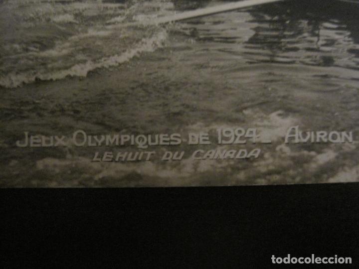Coleccionismo deportivo: JUEGOS OLIMPICOS 1924-COMPETICION REMO-EQUIPO DE CANADA-POSTAL FOTOGRAFICA-VER FOTOS-(58.887) - Foto 2 - 161158138