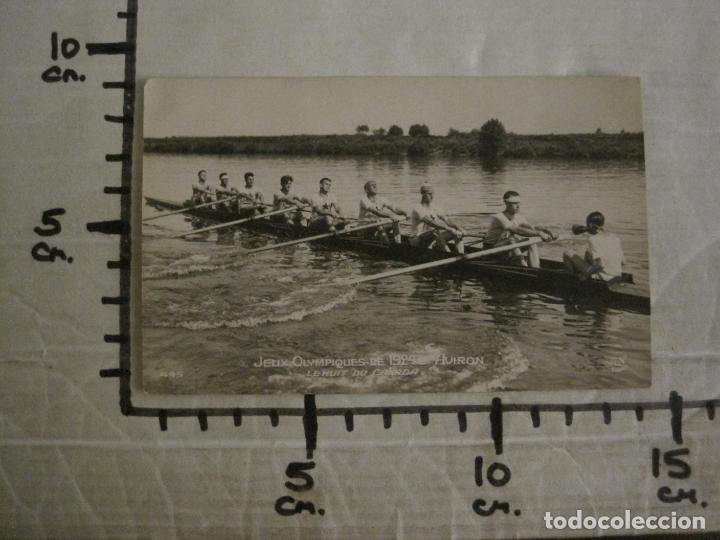 Coleccionismo deportivo: JUEGOS OLIMPICOS 1924-COMPETICION REMO-EQUIPO DE CANADA-POSTAL FOTOGRAFICA-VER FOTOS-(58.887) - Foto 5 - 161158138