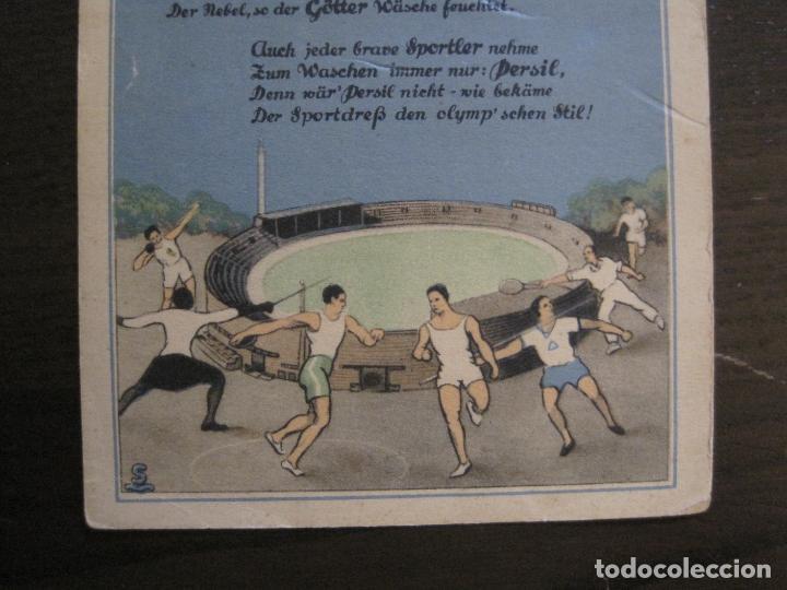 Coleccionismo deportivo: PERSIL-POSTAL PUBLICITARIA-DEPORTES-AVION-VER FOTOS-(59.127) - Foto 3 - 162643110