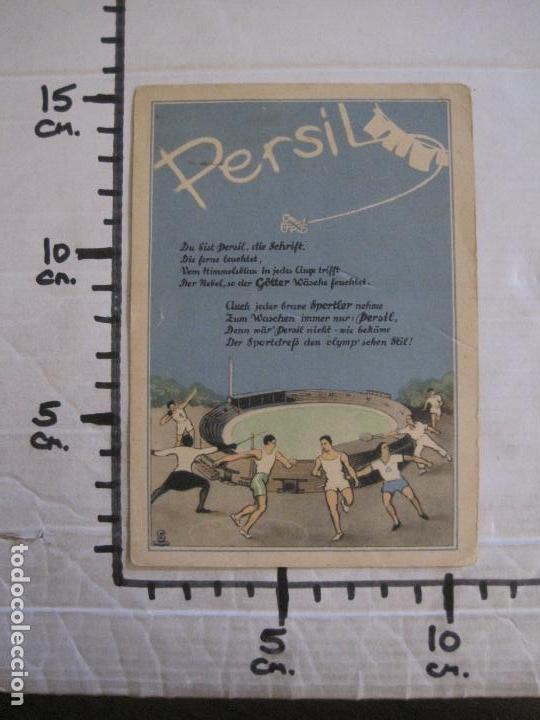 Coleccionismo deportivo: PERSIL-POSTAL PUBLICITARIA-DEPORTES-AVION-VER FOTOS-(59.127) - Foto 5 - 162643110