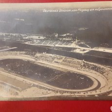 Coleccionismo deportivo: DEUTCHES STADION CON FLUGZEUG SUS AUFGENOMMEN. Lote 166318929