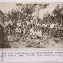 Coleccionismo deportivo: ANTIGUA POSTAL FOTOGRÁFICA - CICLISTAS DEL CLUB CICLISTA BÉTULO, BADALONA. AÑO 1934-35 - J. CORTINAS. Lote 167304044