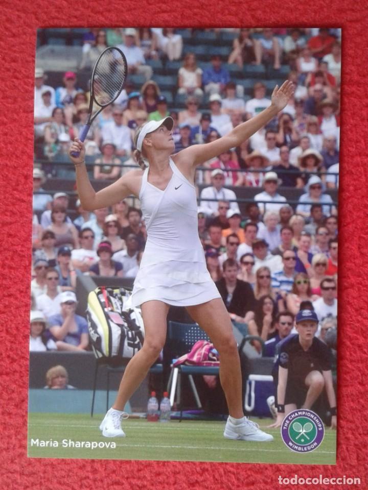 POSTAL POST CARD TENIS TENNIS WIMBLEDON MARIA SHARAPOVA RUSSIA RUSIA THE CHAMPIONSHIPS ALL ENGLAND (Coleccionismo Deportivo - Postales de otros Deportes )
