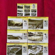 Coleccionismo deportivo: LOTE DE 11 POSTALES DEL II CAMPEONATO MONDIALE DI CALCIO ITALIA 1934. Lote 171604575