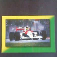 Coleccionismo deportivo: POSTAL FÓRMULA 1. AIRTON SENNA. GP IMOLA 1992. Lote 171749205