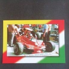 Coleccionismo deportivo: POSTAL FÓRMULA 1. GILLES VILLENEUVE. GP IMOLA 1979. Lote 171749375