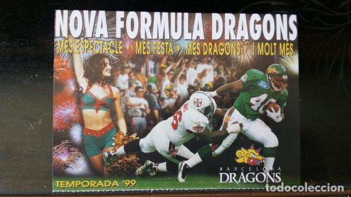 BARCELONA DRAGONS /TEMPORADA 99 (Coleccionismo Deportivo - Postales de otros Deportes )