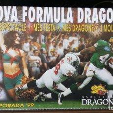 Coleccionismo deportivo: BARCELONA DRAGONS /TEMPORADA 99. Lote 171964392