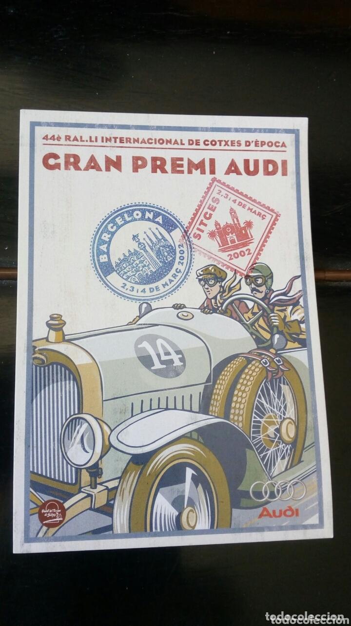 GRAN PREMI AUDI AUDI \SITGES 2002 (Coleccionismo Deportivo - Postales de otros Deportes )