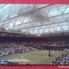 Coleccionismo deportivo: POSTAL POST CARD TENIS TENNIS WIMBLEDON THE JEWEL IN WIMBLEDON'S CROWN CENTRE COURT ALL ENGLAND LAWN. Lote 176533359
