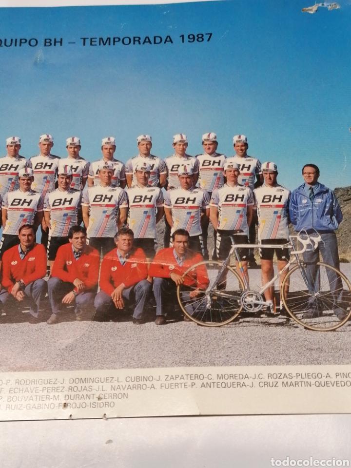 Coleccionismo deportivo: Equipo BH - Foto 3 - 178977415