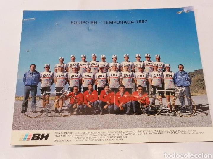 EQUIPO BH (Coleccionismo Deportivo - Postales de otros Deportes )