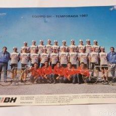 Coleccionismo deportivo: EQUIPO BH. Lote 178977415