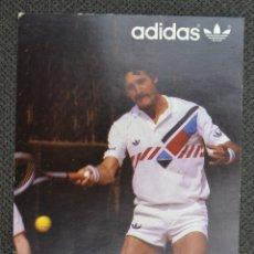 Coleccionismo deportivo: POSTAL PROMOCIONAL ADIDAS TENISTA JOSÉ HIGUERAS. Lote 179070851