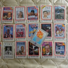 Coleccionismo deportivo: 22 POSTALES JUEGOS OLÍMPICOS OLIMPIADAS 1988 SEUL. PERIÓDICO TIME. SPONSOR PORTADAS CLÁSICAS. 296. Lote 179155680